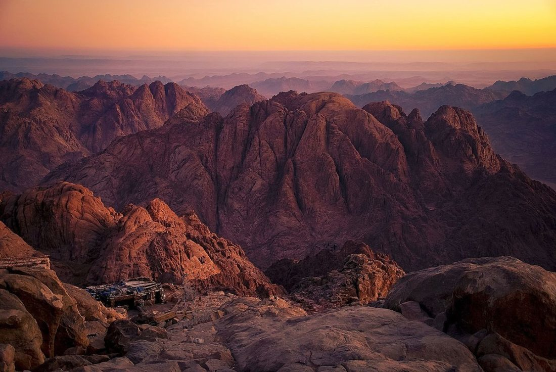 about sinai in arabia